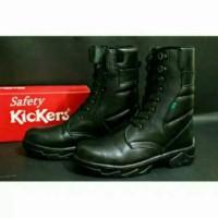 SUPER MURAH PROMO Sepatu PDL PDH Hitam Boots Safety Kickers Pria