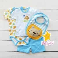 Baju Bayi Jumper Bayi Celana Bayi Baju Bayi Set Bib/ Slaber Alas Makan