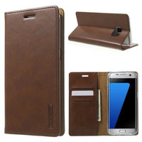 Flip Leather Case Blue Moon Bluemoon Samsung Galaxy J1 Ace Dompet HP