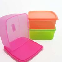 Toples Plastik Segi Kotak Makan/ Bekal/Lunch Box /Souvenir /Toples Kue