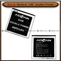 Baterai Advan S4K S 4 K Double Power Batre Batrai HP