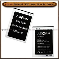 Baterai Advan S5E New S 5 E Double Power Batre Batrai HP