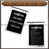 Baterai Advan S5E New S 5 E Double Power Batre Batrai HP