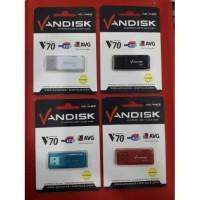 Flash Disk Vandisk Advance 4gb, 4 gb, V70, V 70 Flashdisk