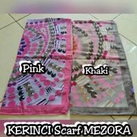 Hijab Kerudung Segi Empat Kerinci Scarf Mezora Original