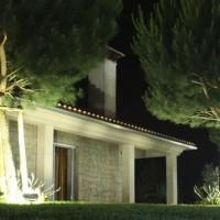 lampu led sorot 100W / tembak / panggung / outdoor / taman / lapangan