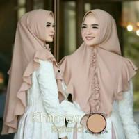 Jual Khimar Simpel Pet Rempel Rafania Hijab Bergo Jilbab Kerudung Instan Murah