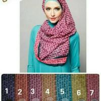#Hijab Segi Empat BIG / HOT SALE jilbab segi 4 zoya , Elzatta