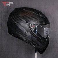PROMOO HELM FULL FACE! AGV AX8 NAKED CARBON FURY