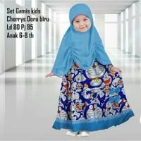 [Citra 88 Busana] Baju Gamis Anak Cherrys kids katun jepang