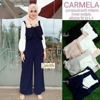 Jual baju muslim / Grosir jumpsuit murah wanita / carmela overall