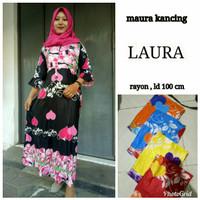 Daster Kancing / Longdress / Batik Wanita / Busui / Baju Hamil