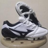 Sepatu Bola Mizuno Wave Ignitus 4 White Black FG Replika Impor