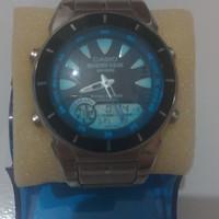 Jam tangan Casio Marine Gear WR100M Ori Asli