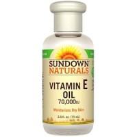 Sundown Naturals Vitamin E Oil 70000 IU 75 ml