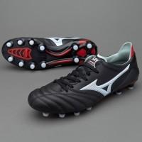 Sepatu Bola Mizuno original Morelia Neo II MIJ MD Black P1GA165101