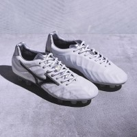 Sepatu Bola Mizuno original Rebula V2 MD White P1GA188209