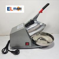 Elmart ice crusher 2 mata pisau/mesin es serut listrik kepal milo