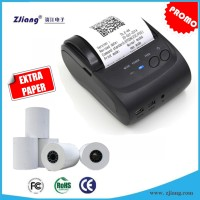 Mesin printer mini Cetak Struk/Bon/Invoice Kasir Bluetooth