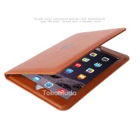 Case IPad Mini 1 2 3 4 Retina Leather Premium Book Leather Cover Kulit