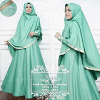 Gamis syari maxi baju muslimah dress xl jumbo bigsizs big size pesta