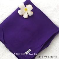 Pashmina Rayon Polos Violet