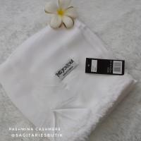 Pashmina Cashmere Broken White Murah