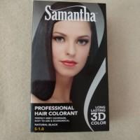 Cat Rambut Samantha Hair Colorant Natural Black