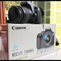 PROMO Kamera Canon 1300D (Garansi) Free Tas