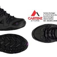 Sepatu Gunung Wanita Gelert Ottawa Low Charcoal Purple dan Blue