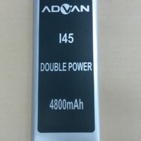 Baterai Advan I45 / Double Power / Ori / battrey / batrai / batre hp