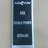 Baterai Advan I45 / Double Power / Ori / battrey / batrai / batre hp