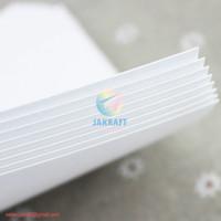 Kertas Art Paper Carton Karton A4 260 Gsm Gram Putih Glossy