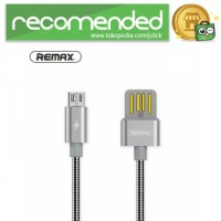 Remax Silver Serpent Kabel Micro USB - RC-080m - Silver