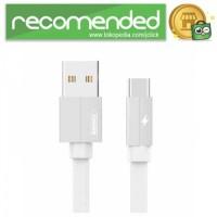 Remax Kerolla Fabric Kabel USB Type C - RC-094a - 200 CM - Putih
