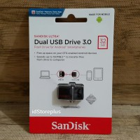Sandisk Flashdisk Ultra Dual USB Drive OTG 32GB Original