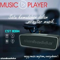 Promo Speaker Simbadda Cst 806 N (Bluetooth + Line In + Fm + Tf Card +