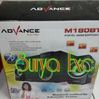 Jual Speaker Bluetooth Advance Digitals M180Bt Xtra Power Sound 2.1 Ch