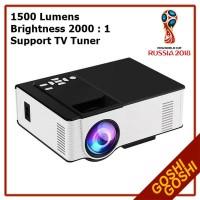 Infocus Mini LED 314 TV Tuner Proyektor Infokus Nobar | Infocus Bola