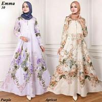 Maxi Emma 30 Baju Muslim Wanita Gamis Model Kekinian Terbaru