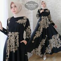 Syari Monalisa Valerie Baju Muslim Wanita Gamis Pesta Kekinian