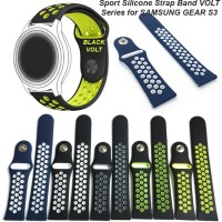 Big sale STRAP SAMSUNG GEAR S3 FRONTIER Sport Silicone Strap Band VO