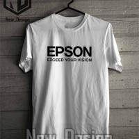 Baju Kaos Epson Printer keren Pria Wanita