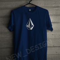 Baju Kaos T-shirt Volcom Simple keren Pria Wanita