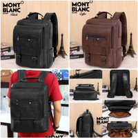 11 New Arrival 👉Backpack Laptop Kulit MONTBLANC A2200 Murah Batam