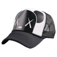 Topi Baseball Dog Design - Hitam