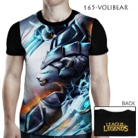 Harga kaos 3d Games LOL League of Legends 165 VOLIBEAR | WIKIPRICE INDONESIA