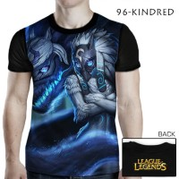 Harga kaos 3d Games LOL League of Legends 96 KINDRED | WIKIPRICE INDONESIA