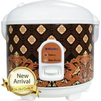 Magicom Rice Cooker Penanak Nasi Magic Jar miyako mcm 528 btk/miyako 1