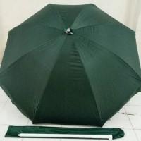 "Payung Tenda Double 46"" Hijau Diameter 210cm High Quality"
